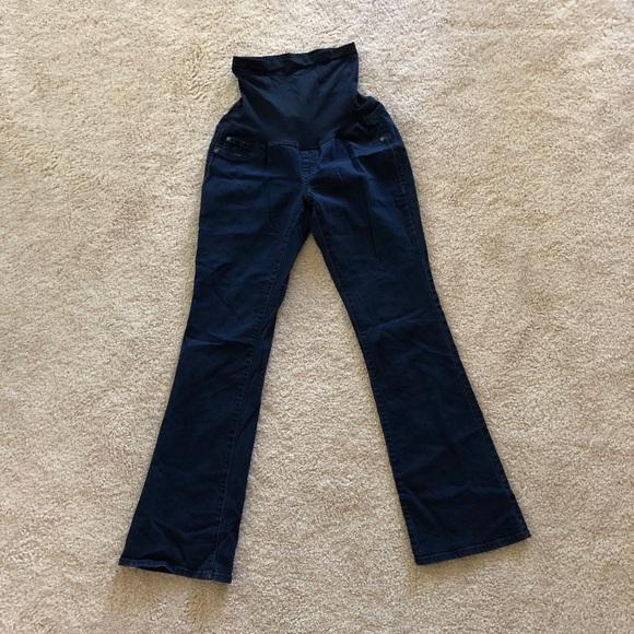 7595482700a47 Indigo Blue Jeans   Dark Blue Flattering Maternity   Poshmark